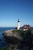 Verticale de phare de Portland Image libre de droits