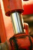 Verticale de piston de Hydrolic Photographie stock libre de droits