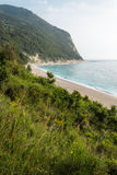 Verticale de plage de San Michele photo stock