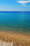 Verticale de plage sablonneuse Photos stock
