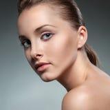 Verticale de plan rapproché de femme sexy Photo libre de droits