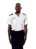 Verticale de policier dans l'uniforme photo libre de droits