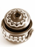 Verticale de poterie Images stock