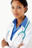 Verticale de professionnel médical photo libre de droits