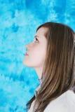 Verticale de profil Photographie stock libre de droits