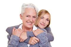 Verticale de rétablissements de famille Photos libres de droits