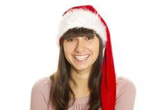 Verticale de Santa image stock