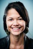 Verticale de sourire photographie stock libre de droits