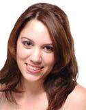 Verticale de sourire de Brunette Images stock