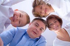 Verticale de style de vie de famille Image libre de droits