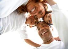 Verticale de style de vie de famille Images libres de droits
