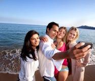 Verticale de téléphone portable Photographie stock