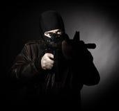 Verticale de terroriste images libres de droits