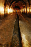 Verticale de tunnel de mine Photos stock