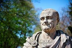 Verticale de Vespasian - empereur romain Images libres de droits