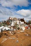 Verticale de vidage mémoire de déchets photos libres de droits