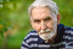 Verticale de vieil homme Photo stock