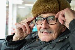 Verticale de vieil homme Photos stock