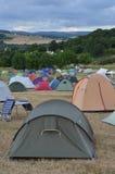 Verticale del campeggio di festival Immagine Stock Libera da Diritti