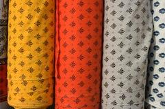 Verticale del rullo del tessuto Fotografie Stock Libere da Diritti