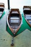 Verticale della barca a remi Fotografie Stock Libere da Diritti