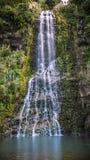Verticale della cascata di Karekare Immagini Stock