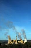 Verticale della centrale elettrica Fotografia Stock Libera da Diritti