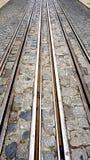 Verticale della linea tranviaria fotografia stock libera da diritti