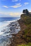 Verticale della scogliera di Avalon del mare Fotografia Stock