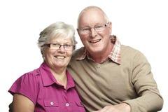 Verticale des couples aînés Photo stock
