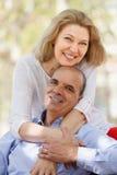 Verticale des couples mûrs Image stock