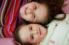 Verticale des enfants - groupe Photo libre de droits