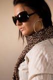 Verticale des femmes à la mode Photos stock