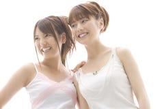 Verticale des femmes japonaises image stock