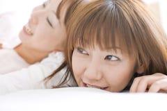 Verticale des femmes japonaises Photo stock