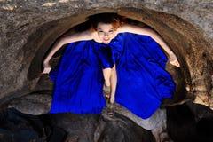 Verticale des femmes thaïes Photo libre de droits