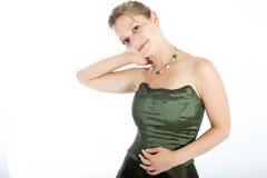 Verticale des jeunes femmes Image stock