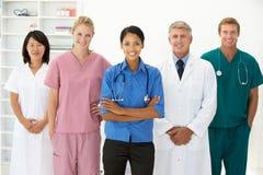 Verticale des professionnels médicaux Photos stock