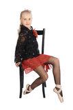 Verticale du danseur Photo libre de droits