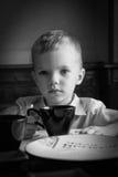 Verticale du petit garçon Photos libres de droits