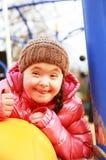 Verticale du sourire de fille Photographie stock libre de droits