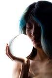 Verticale en cristal Photos stock
