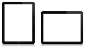 Verticale en Horizontale Tablet Stock Afbeeldingen