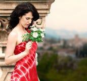 Verticale espagnole de type de femme Images stock