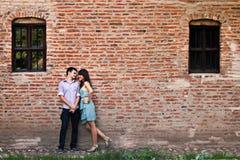 Verticale extérieure de couples Photos stock