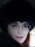 Verticale féminine Photos libres de droits