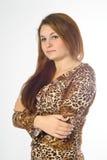 Verticale femelle Photo libre de droits