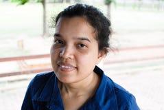 Verticale femelle asiatique Photographie stock libre de droits