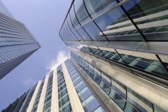Verticale gebouwen Royalty-vrije Stock Afbeeldingen