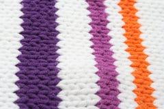 Verticale gekleurde strepen op sweater Royalty-vrije Stock Afbeeldingen